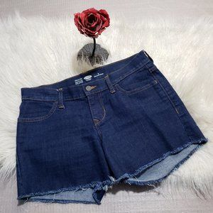 Old Navy Semi-fitted Cut off shorts frayed hem
